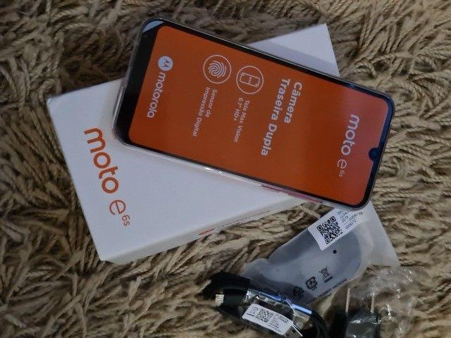 Smartphone Moto E6s 32gb Dual Chip Tela 6.1 Polegadas Pink - Foto 3