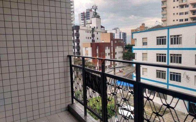 Apartamento em Praia grande - Canto do Forte, SENDO: 02 dormitórios, 01 sala ampla - Foto 2