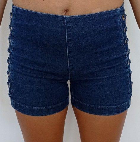 Short jeans feminino DAMYLLER