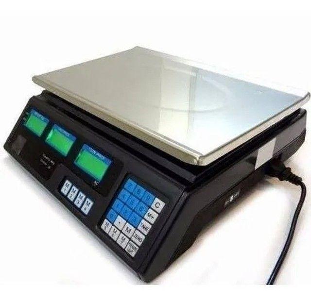Balança Eletrônica Digital 40kg Alta Precisão/bateria recarregável - Entrega grátis - Foto 2