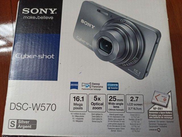 Máquina fotográfica digital Sony Cyber-shot DSC-W570, 16.1Mp - Foto 5