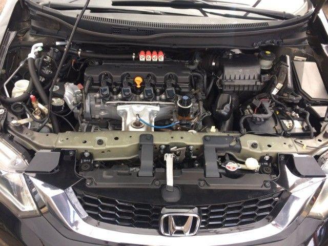 Honda Civic Sedan LXR 2.0 Flexone 16V Aut. 4p   2016 C/GNV - Foto 4