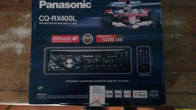 CD Player Panasonic em excelente estado