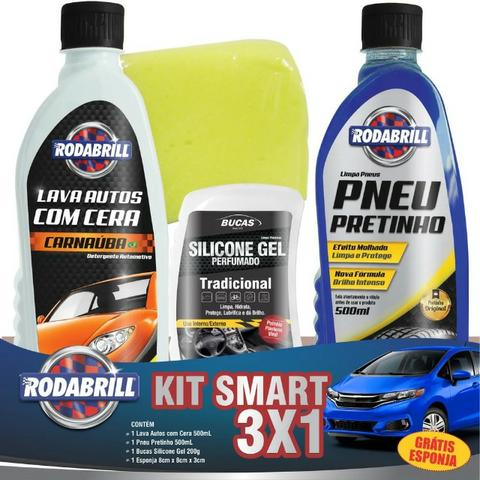 Kit Limpeza Automotiva Rodabril