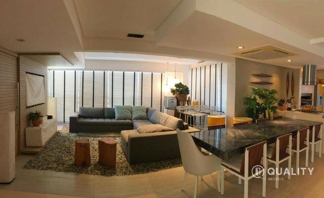 Apartamento duplex com 4 quartos à venda, 151 m² por R$ 2.000.000 Porto das Dunas - Aquira