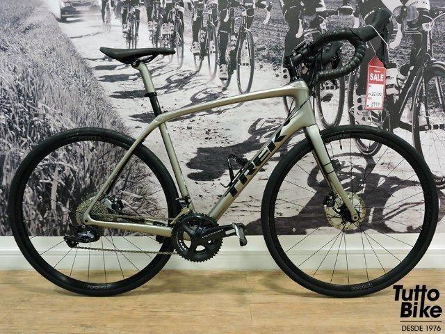 Bicicleta usada Trek Domane SL6 2018 (tamanho 56)