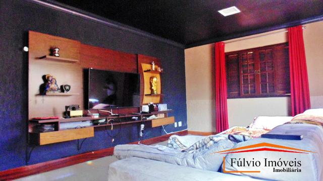 Linda casa, fino acabamento, porcelanato, laje, 04 quartos Colônia Agrícola Samambaia - Foto 6