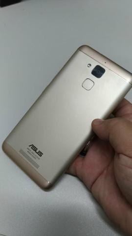Celular Zenfone Max 3 dourado