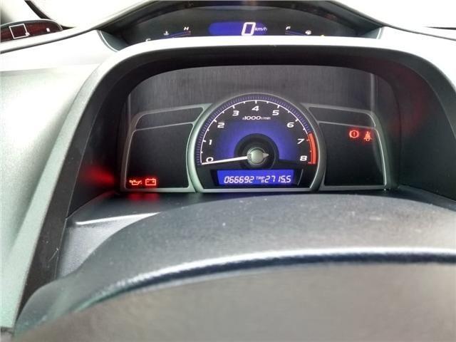 Honda Civic 1.8 lxs 16v flex 4p manual - Foto 13