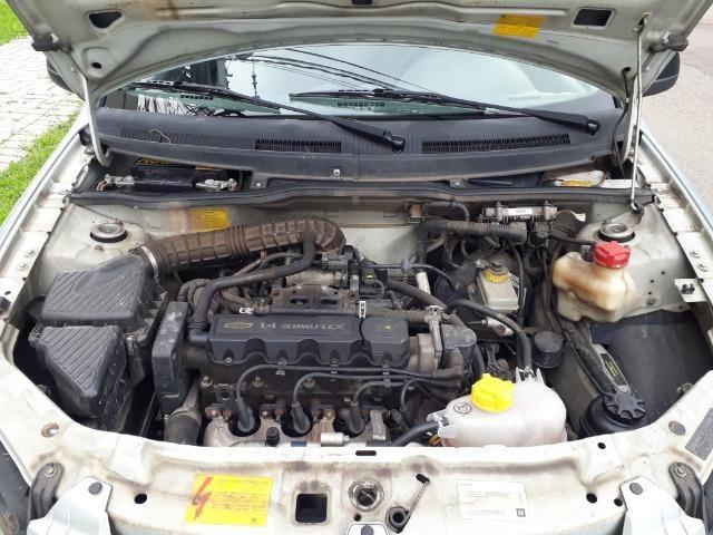Chevrolet Prisma Maxx 1.4 4P 2009/2010 total flex cor prata - Foto 12
