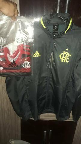 Corta vento xl + Camisa feminina Flamengo M