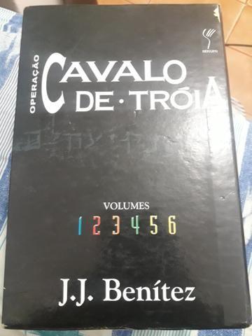 Coleção de livros cavalo de tróia do 1 ao 7