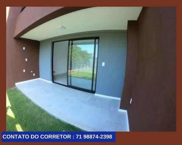 Casa em Patamares Casa com 3 quartos - Dependência - Suíte em 129m² com 2 Vagas, - Foto 2