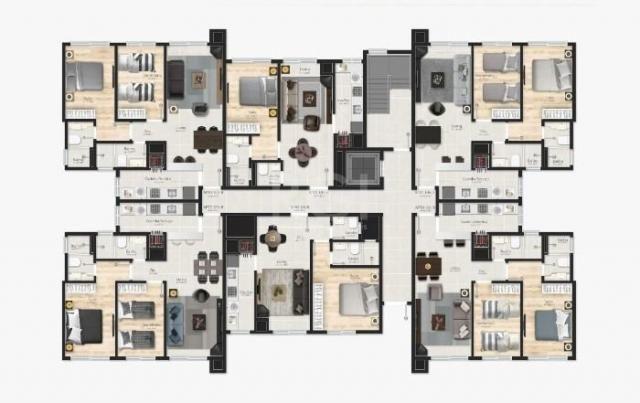 Apartamento à venda com 1 dormitórios em Várzea grande, Gramado cod:EV4091 - Foto 17