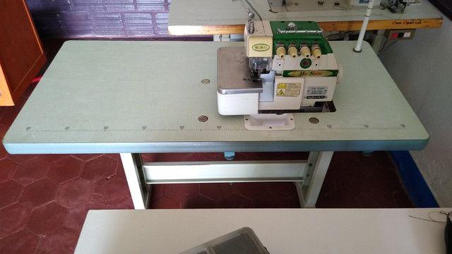 Máquinas de costura revisadas e com garantia