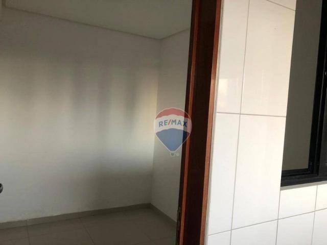 Apartamento com 3 dormitórios para alugar, 122 m² por R$ 2.400,00/mês - Manaíra - João Pes - Foto 9