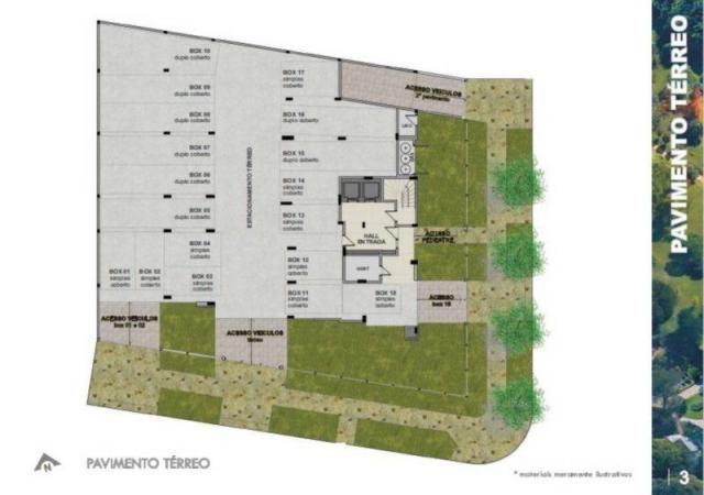 Apartamento à venda com 2 dormitórios em Jardim botânico, Porto alegre cod:AP010222 - Foto 3