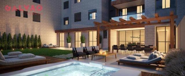 Apartamento com 2 dormitórios à venda, 88 m² por R$ 642.425,79 - Alto da Rua XV - Curitiba - Foto 7