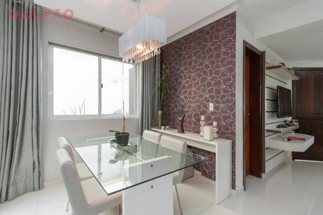 Sobrado com 3 dormitórios à venda, 104 m² por R$ 398.500,00 - Hauer - Curitiba/PR - Foto 5