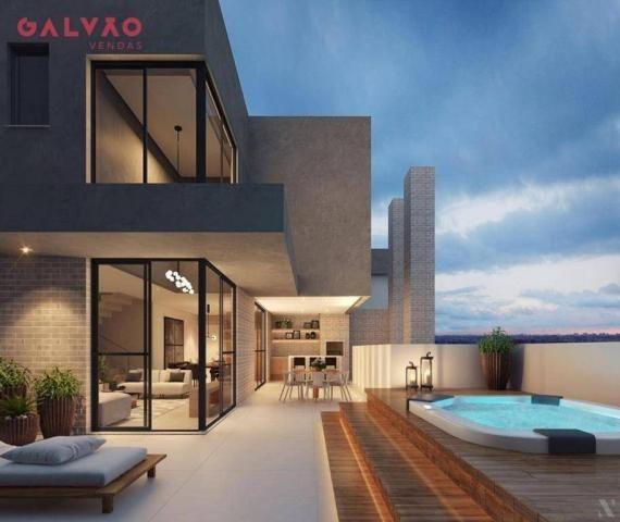 Apartamento com 2 dormitórios à venda, 88 m² por R$ 642.425,79 - Alto da Rua XV - Curitiba - Foto 8