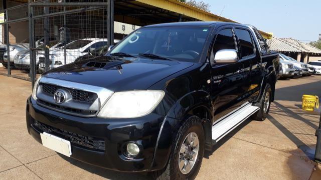 Toyota Hilux CD SRV 3.0 Preto