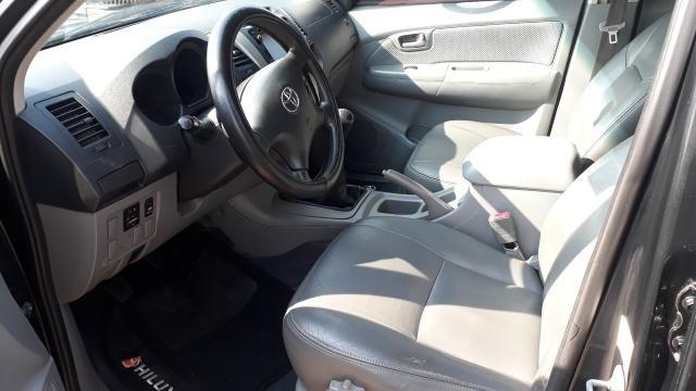 Toyota Hilux CD SRV 3.0 Preto - Foto 7