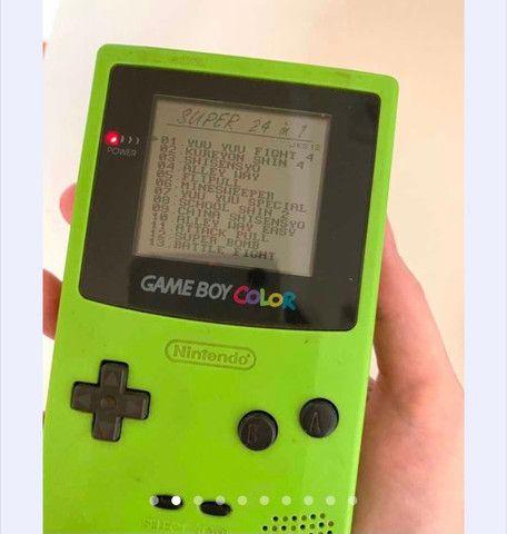 Game boy color kiwi e jogo - Foto 2
