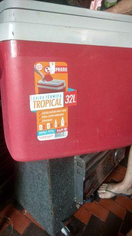 Caixa térmica Cooler 32 litros - Foto 2