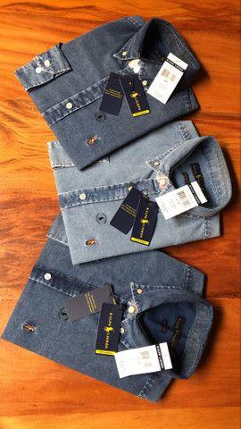Camisa Jeans RL - Foto 6