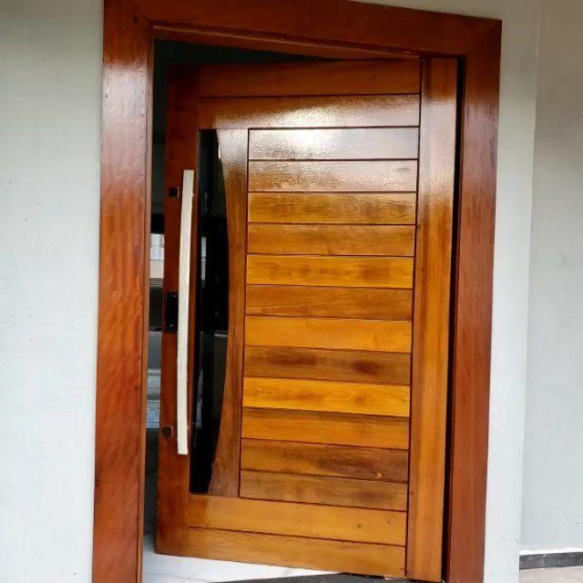 Porta pivotante maciça para TO - Foto 6