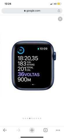 Apple Watch - Serie 6 - Azul - 44mm - Foto 4