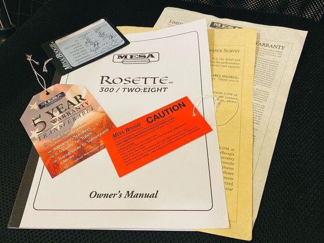 Mesa Boogie Rosette 300 Two:eight amplificador combo Acústico Melhor Do Mundo - Foto 6
