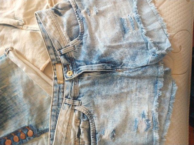 Shortinhos jeans - Foto 4