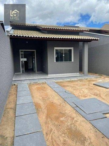 Casa com 2 dormitórios à venda, 80 m² por R$ 175.000,00 - Divineia - Aquiraz/CE - Foto 3