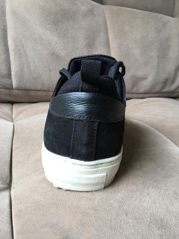 SAPATÊNIS masculino Shoestock PRETO - No 43 - NOVÍSSIMO! - Foto 4