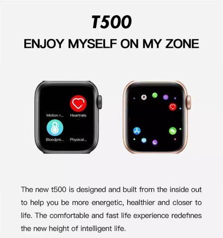 Smartwatch T500 Original Aprova D Água   - Foto 3