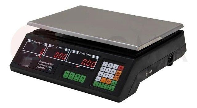 Balança Eletrônica Digital 40kg Alta Precisão/bateria recarregável - Entrega grátis - Foto 3
