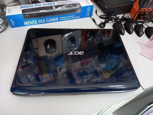 Notebook Acer    DualCore  320Gb HD  4GB   Formatado C/Garantia - Foto 4