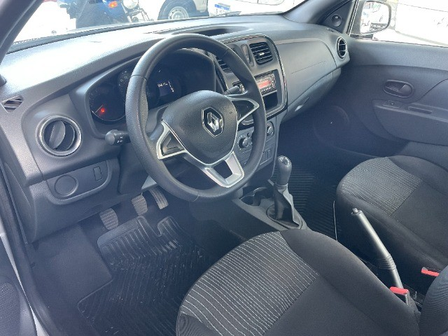 Renault Logan Life 1.0 Flex Completo 2020 Autos RR - Foto 5