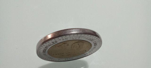Moeda rara 10 pesos Uruguayos 2000 colecionador - Foto 3