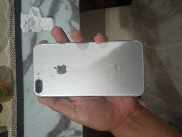 iPhone 7Plus Silver 32GB - Foto 4