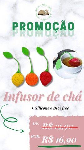 Porta chá - infusor