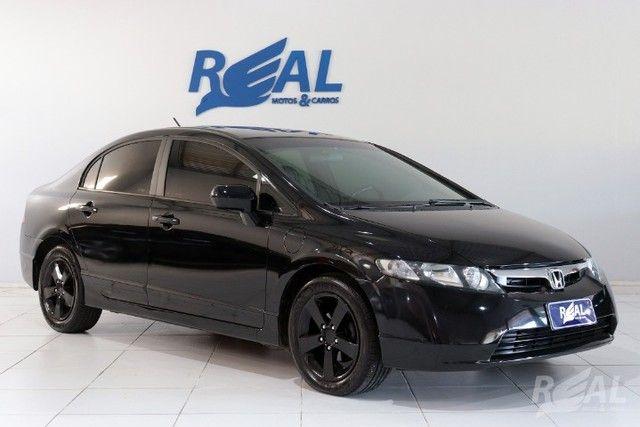 Honda Civic LXS 1.8 Automático Flex Financia Até 60X Com Apenas 5 Mil De Entrada - Foto 2