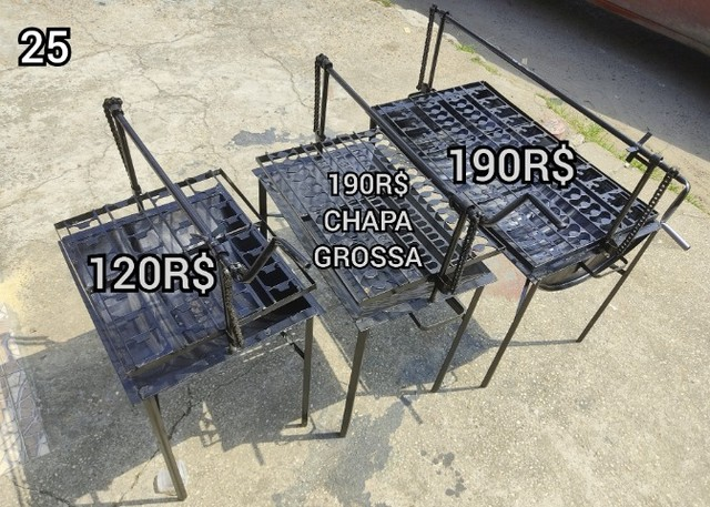 churrasqueira grande tambo  brinde 2 saco Carvão entrega gratis #$! - Foto 2
