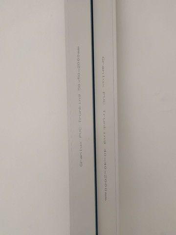 Canaletas Granlux PVC 2 metros cada 40x40 e 50x50 - Foto 2