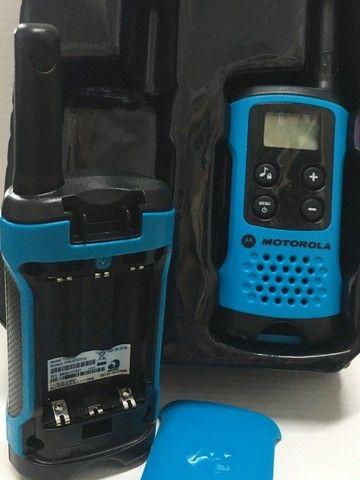 Par Radio Comunicador Motorola Talkabout T100 - Foto 3