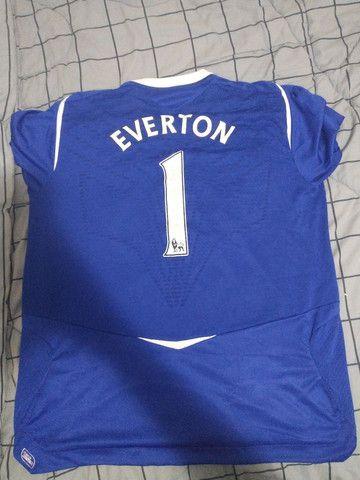 Camisa Everton 2008-2009 - Foto 2