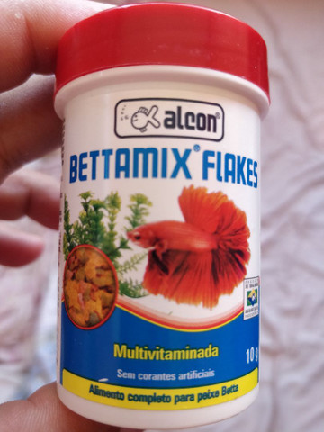 Ração Vitaminada p Bettas