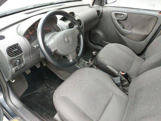Corsa Sedan Premium 1.8 Flex 2008 COMPLETO + AIRBAG - Foto 19