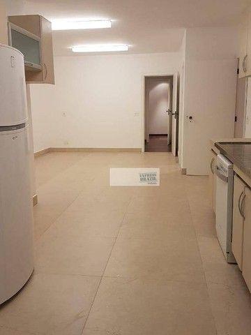 Apartamento com 4 dormitórios para alugar, 335 m² por R$ 14.000,00/mês - Chácara Flora - S - Foto 11